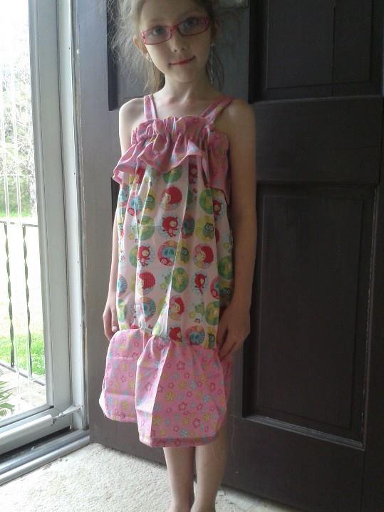 C1 in Owly Dress