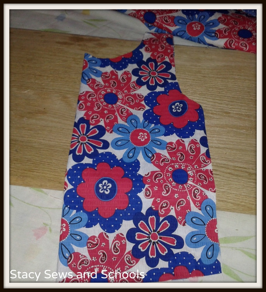 Red White and Blue Dress Tutorial and a Possessed Sewing Machine (6/6)