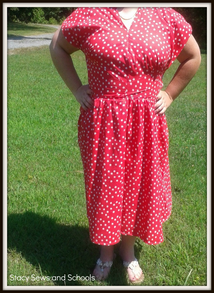 Retro Butterick '47 Is DONE!!!! (1/3)