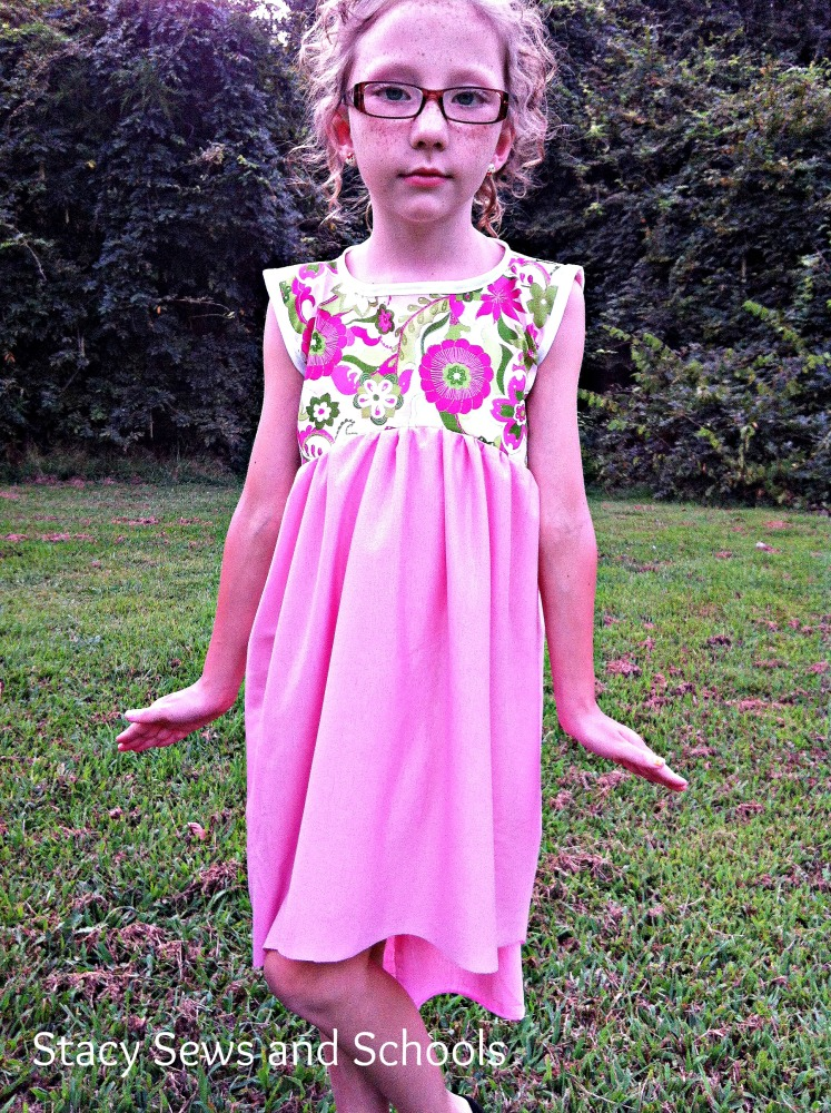 High Low, High Low! It's Off to Play I Go! Dress Tutorial (2/6)