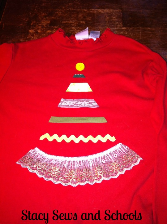 Christmas tree shirt 006