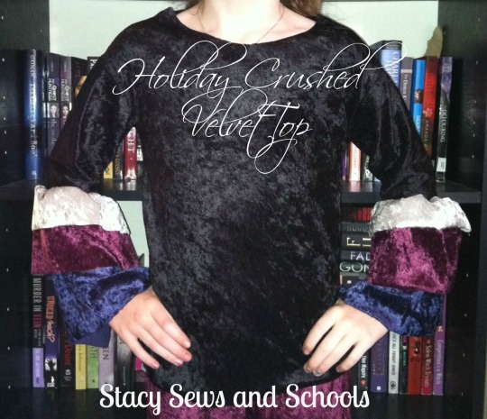 Holiday Crushed Panne Shirt 0001