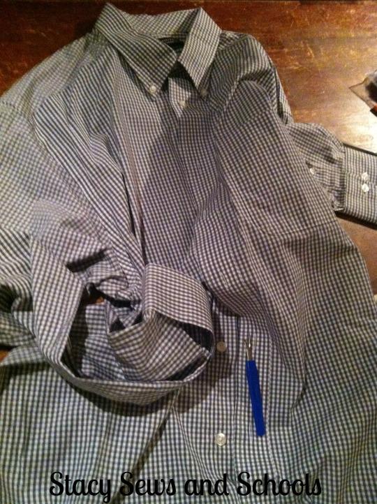 Men's Shirt Refashion 002