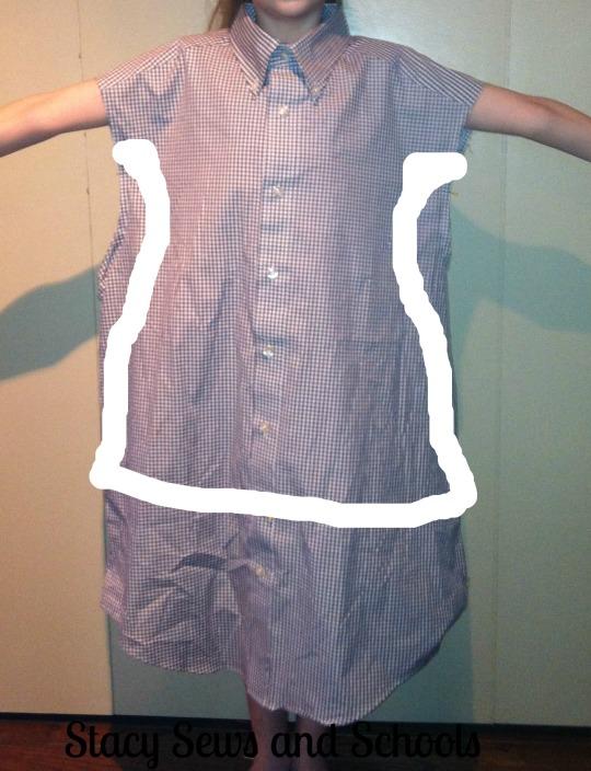 Men's Shirt Refashion 006