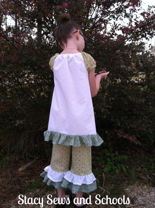 SquigglyTwigs Designs Pants and Peasant Blouse 012