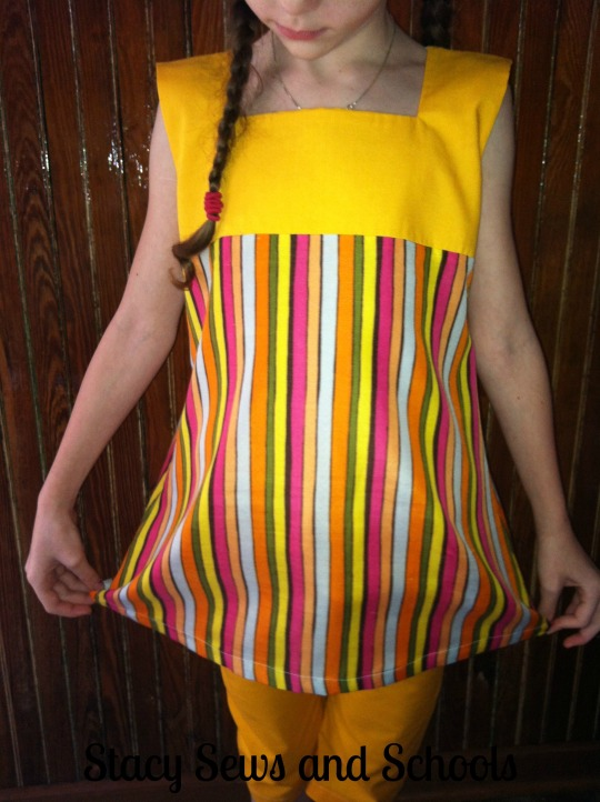 Sunshine Day Tunic and Clam Diggers 00700