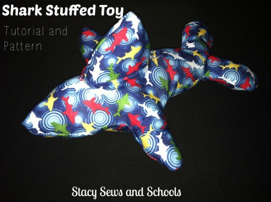 Sharky Stuffed Toy 1