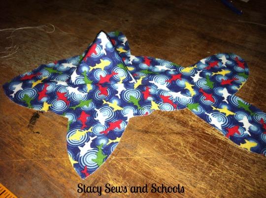 Sharky Stuffed  Toy 8