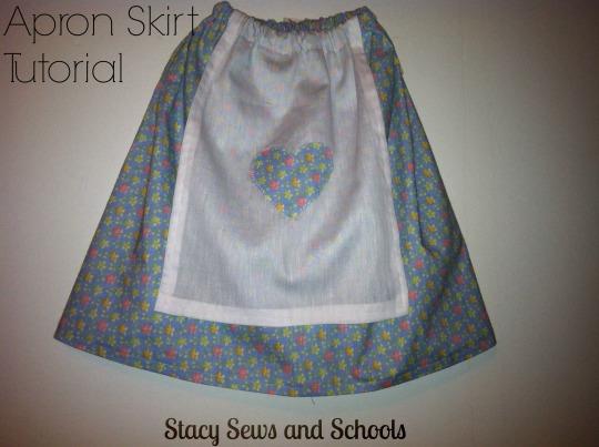 Apron skirt 1