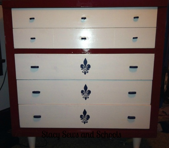Chest of Drawers Make Over 003