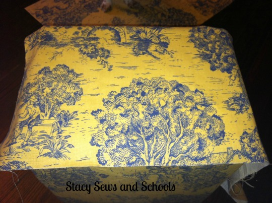 DIY cute storage box 024