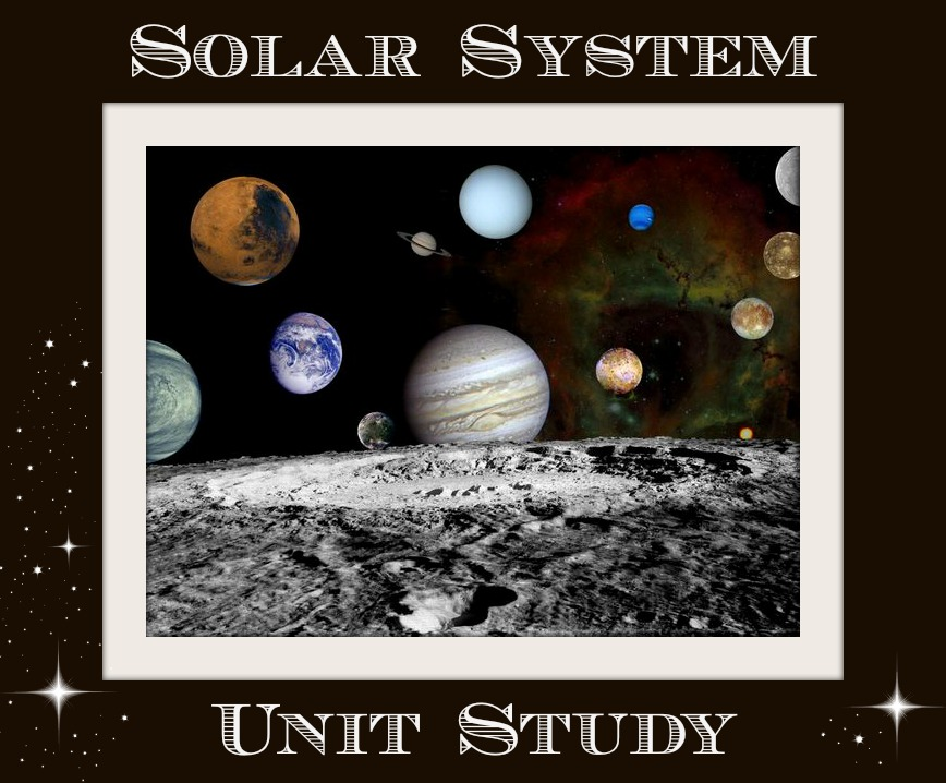 Stacy Sews and Schools: Solar System Unit Study