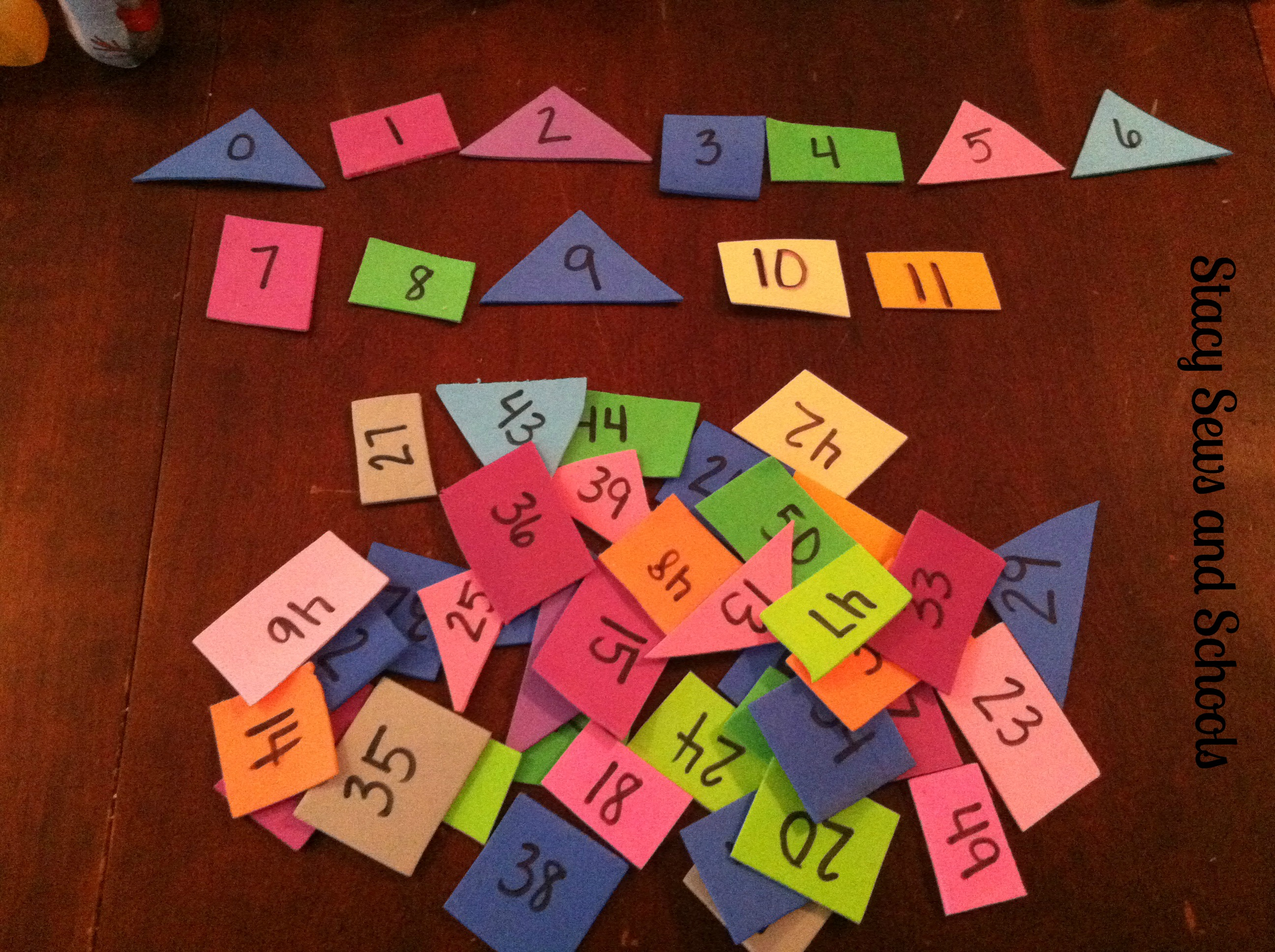 Easy Number Activities 004