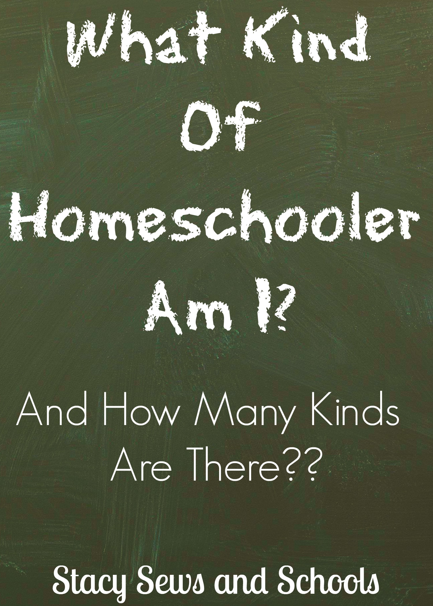 Type of Homeschooler