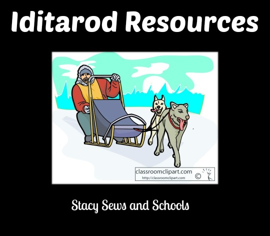 Dog Sled Clipart