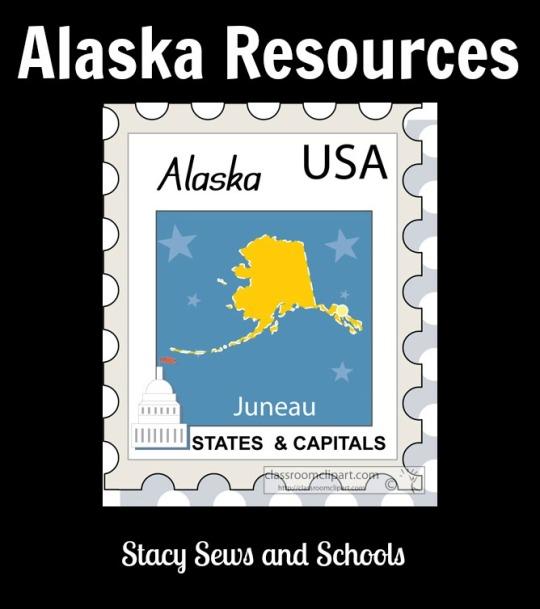 us state alaska stamp clipart