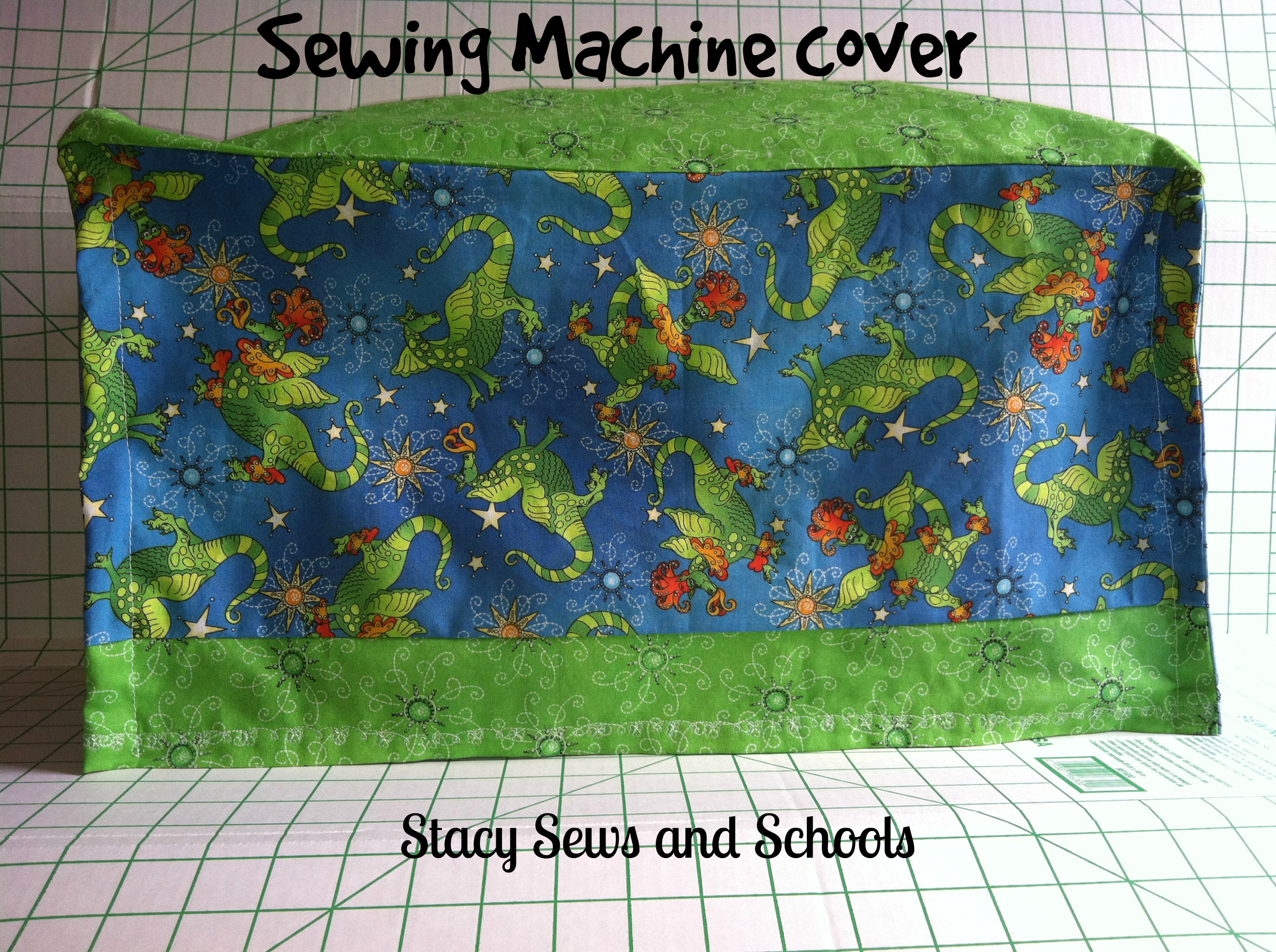 Sewing Machine Cover 2